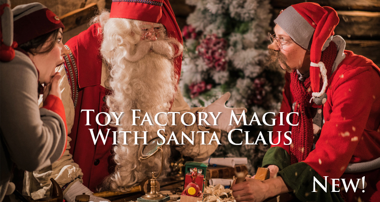 Toy Factory Magic With Santa Claus